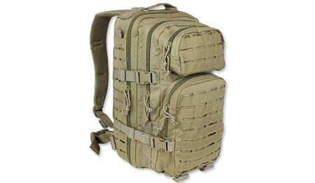 Plecak Small Assault Pack Laser Cut - Coyote Tan - Mil-Tec